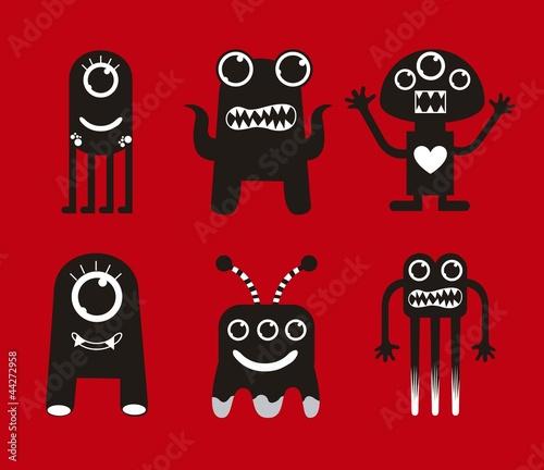 black monsters