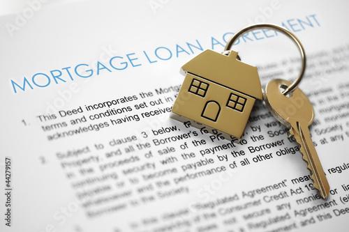Fototapeta Mortgage application obraz