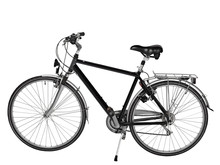 Road Bike Isolated With Clipping Path