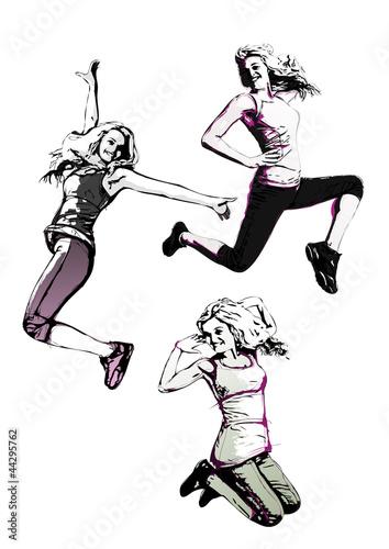 trio-aerobiku