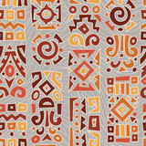 Ethnic African geometrically typical pattern