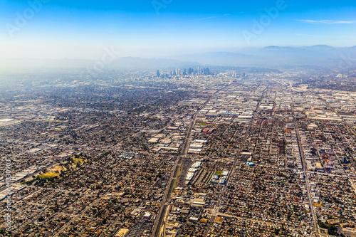 Poster Los Angeles aerial of Los Angeles