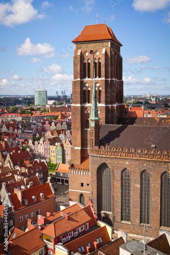 obraz PCV Katedra Najświętszej Marii Panny na Starym Mieście w Gdańsku, Polska