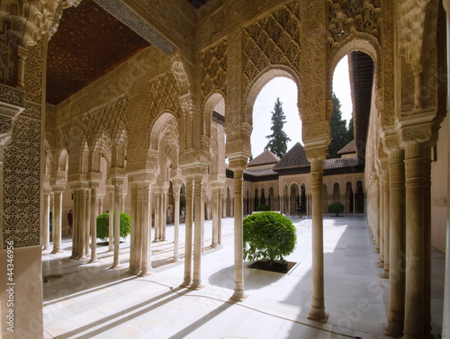 the Alhambra in Granada Canvas Print