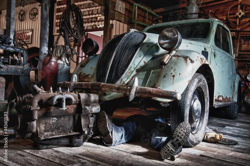 Fiat Topolino 500 Bj. 1937 Canvas-taulu