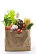 Leinwandbild Motiv Food Bag
