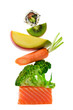 Leinwandbild Motiv Equilibre alimentaire