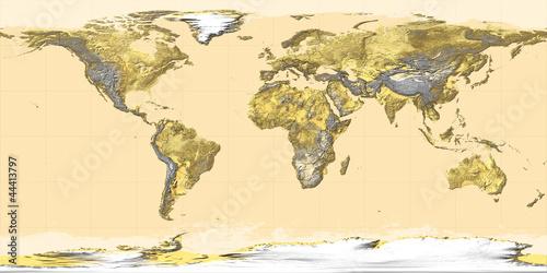 mapa-swiata-swiat-topografia-ziemia-zloto