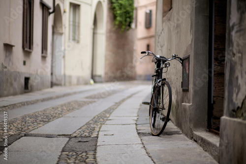 Bike on the street