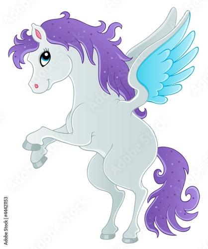 Poster Pony Fairy tale pegasus theme image 1