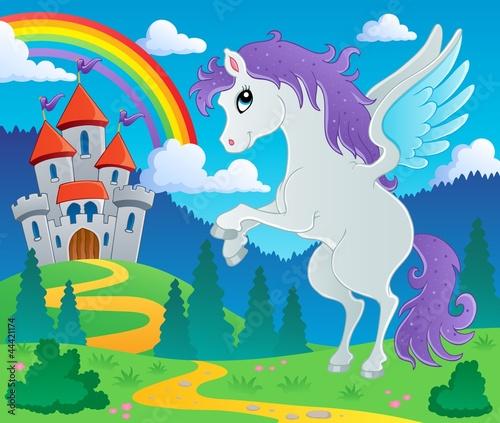 Poster Pony Fairy tale pegasus theme image 2