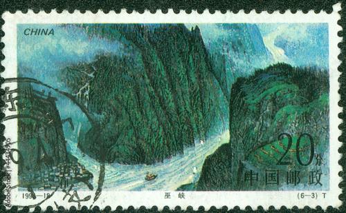 Fotografia  Three Gorges of Yangtze River