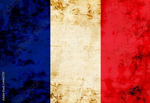 French flag Tapéta, Fotótapéta
