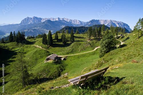 Fotografie, Obraz  Wilder Kaiser, Tirol