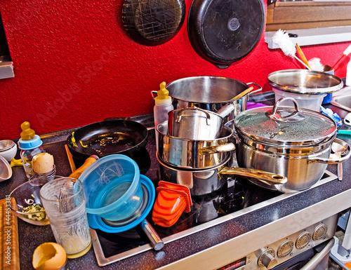 Valokuva  chaos in the kitchen