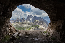 Panorama From Man-made Caves, ...