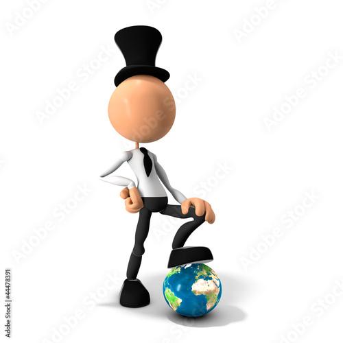 Mascotte mondialisation Billede på lærred