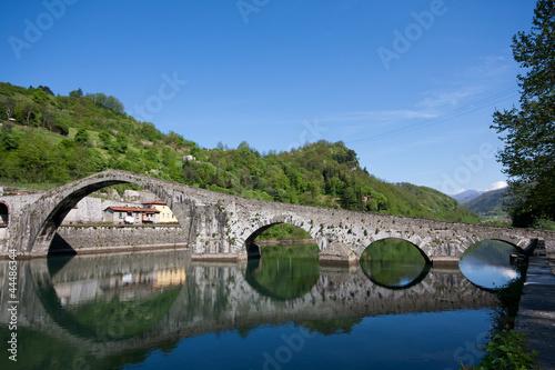 Ponte del diavolo - Borgo a Mozzano Poster