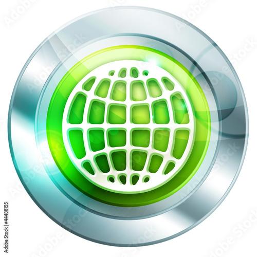 Платно icône halo vert 5