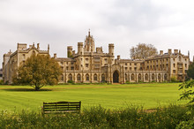 St. Johns College In Cambridge...