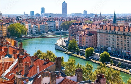 Obraz na plátne  Lyon, France.