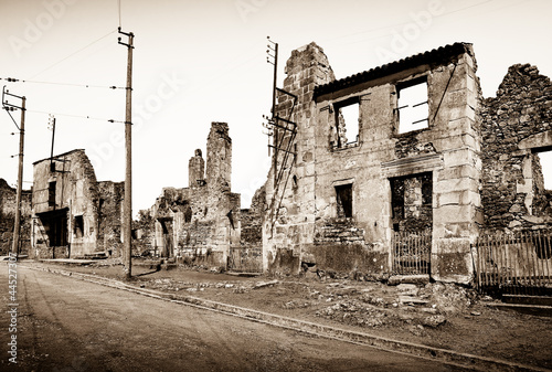 Fotografie, Obraz  distruzione nazista