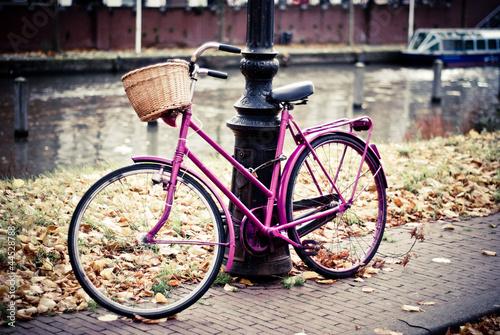 Tuinposter Fiets bike in amsterdam