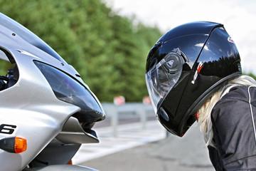 Motocykl i Kobieta - Motorbike & Woman