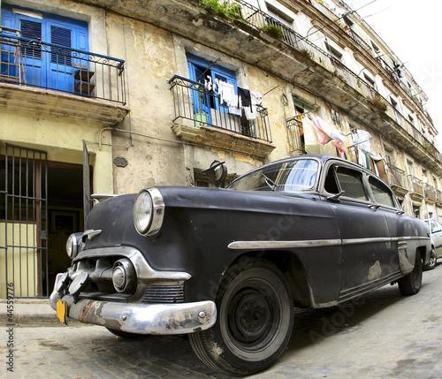 Classic old car in the Havana