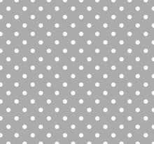 Gray Polka Dot Background