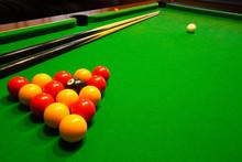 Pool Billiards Table