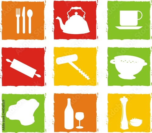 papier peint cuisine - Buy this stock vector and explore similar ...