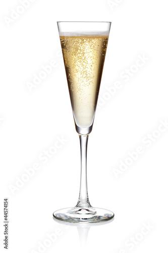 Fotografie, Obraz  Glass of champagne