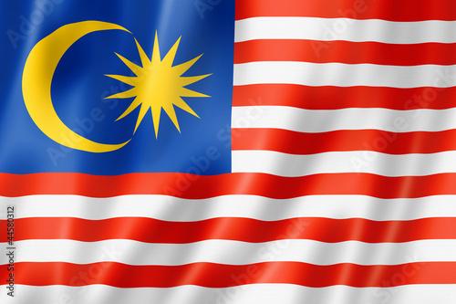 Cuadros en Lienzo  Malaysian flag