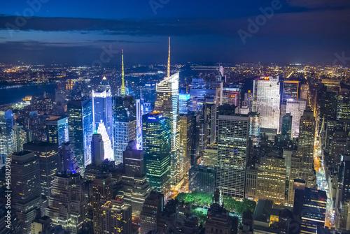 Fototapeta premium Nowy Jork nocą