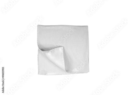 Tela handkerchief isolated on white
