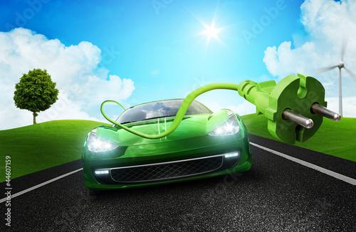 Fototapety, obrazy: Electric Car