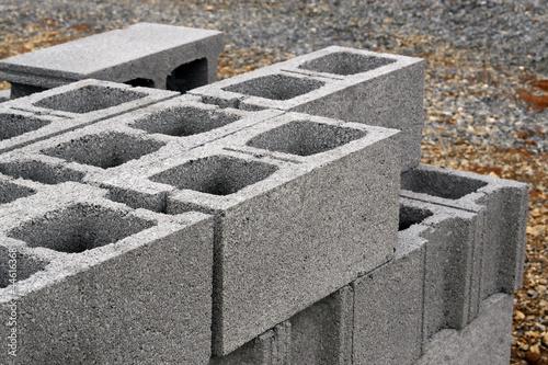 concrete blocks Wallpaper Mural