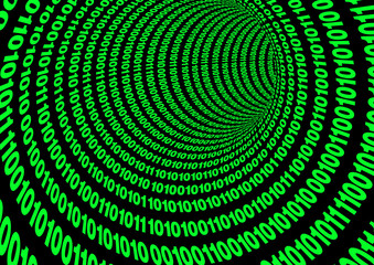 Binary Code Tube