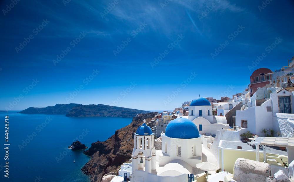 Fototapety, obrazy: Santorini Churches