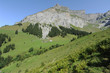 La montagna di Hanen ad Engelberg nelle alpi svizzere