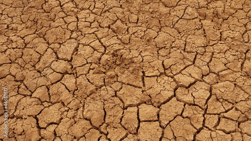 Fényképezés  Trockener Boden in der Hitze