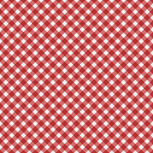 Red Gingham Fabric  Background