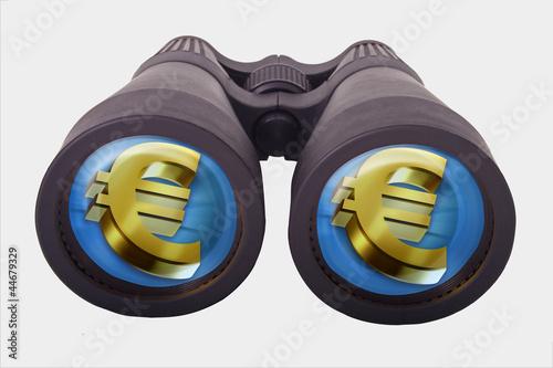 Photo prismáticos + euro