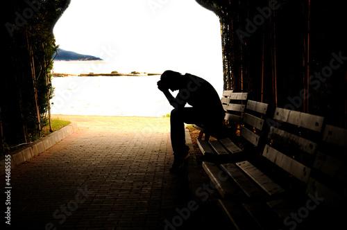 Fotografia  teen depression, tunnel