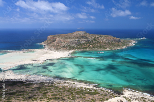 Motiv-Rollo Basic - Balos beach at Crete island in Greece (von Panos)