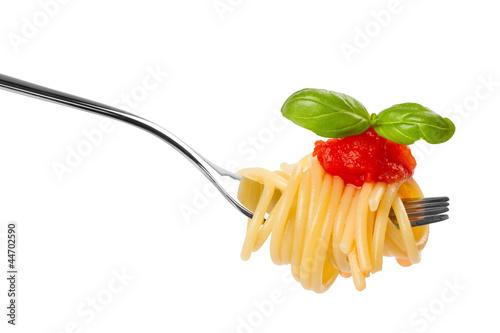 Fotografie, Obraz  pasta fork