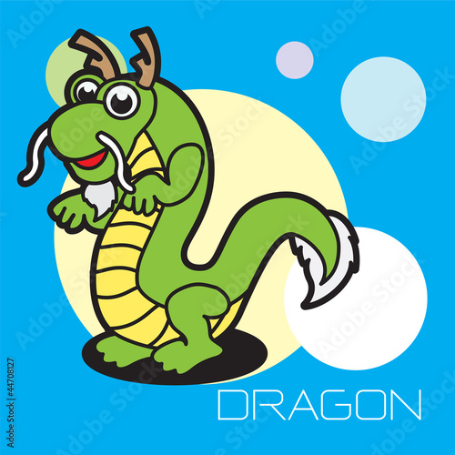 chinese zodiac dragon - Buy this stock illustration and explore