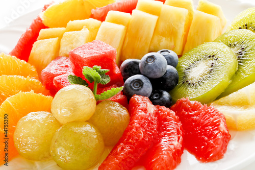 Poster Vruchten カットフルーツ