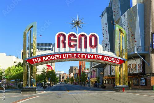 Obraz na plátně Reno The Biggest Little City in the World.